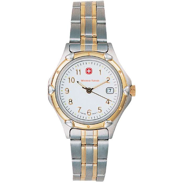 Wenger® Womens Stand Issue 2-Tone Brac Watch