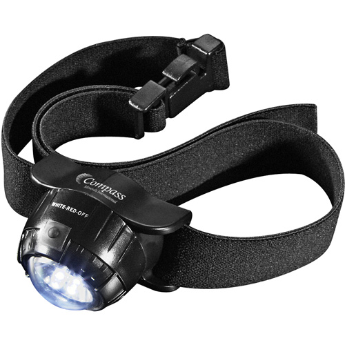 3 L.E.D. Headlamp 2 Lithium Battery