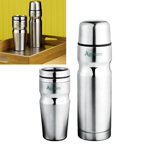 Deco Band Insulated Bottle & Tumbler Gift Set
