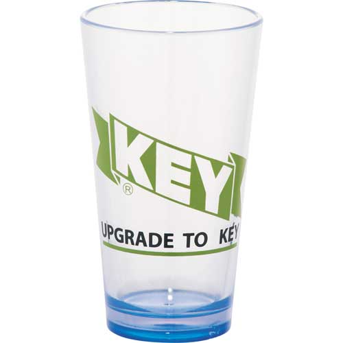 CLEARANCE:Game Day Plastic Pint Glass 16oz