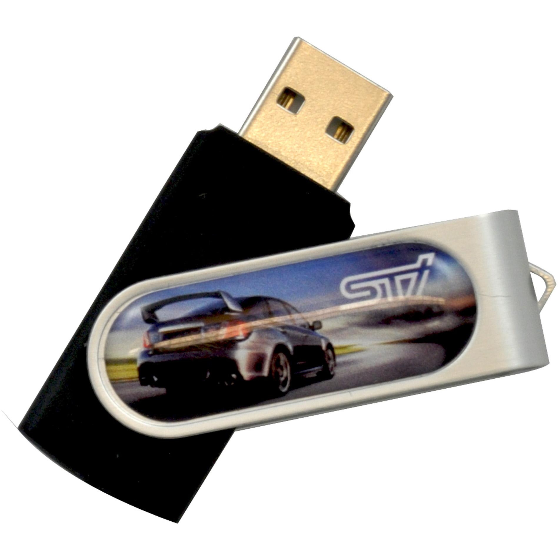 Dome Rotate Flash Drive 2GB