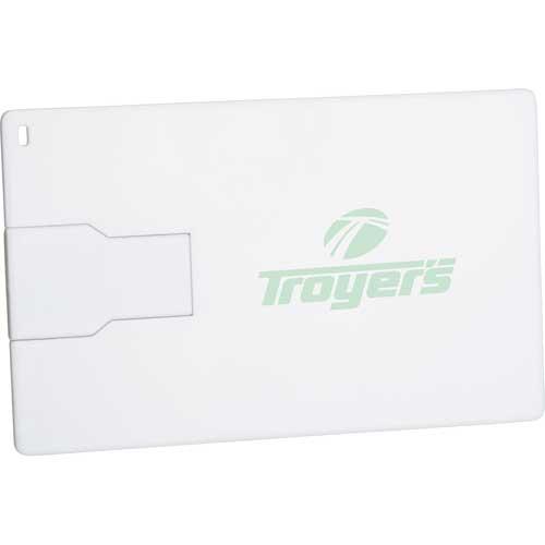 Slim Credit Card Flash Drive 4GB