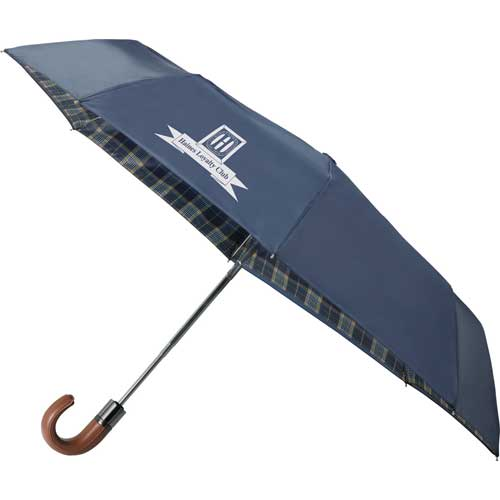 """42"""" Highlander Folding Auto Umbrella"""