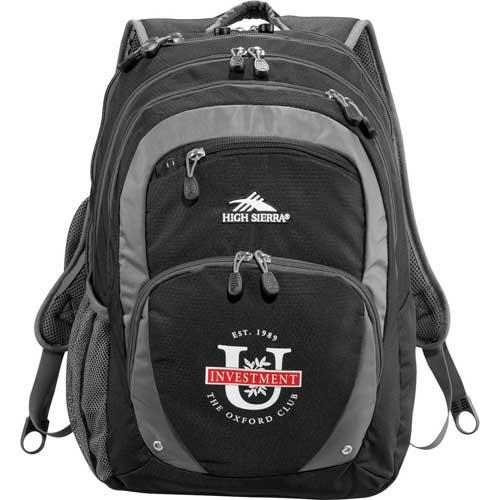 High Sierra Check-Friendly Fly-By Compu-Backpack